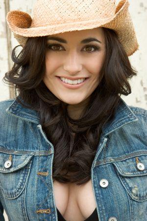 denim jacket: Pretty Girl