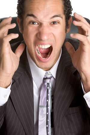 Upset Businessman Stock Photo - 2515557