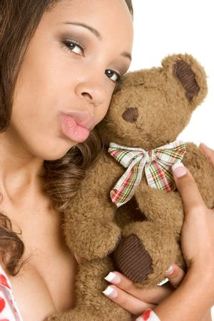 Teddy Bear Woman photo