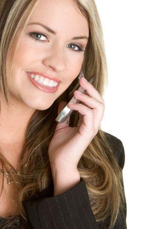 Businesswoman on Phone Stock Photo - 2514528