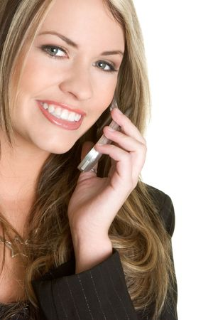 Businesswoman on Phone Stock Photo - 2514528