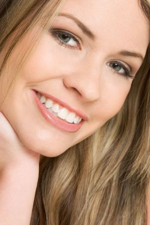Closeup of Smiling Girl Stock Photo - 2514526