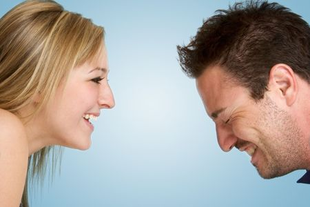 Laughing Couple photo