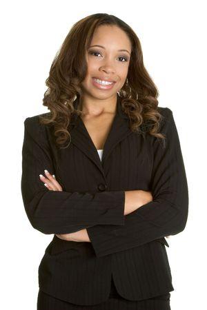 Businesswoman Smiling Stock Photo - 2534104