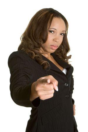 Mad Businesswoman  Archivio Fotografico - 2534103