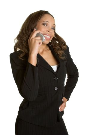 Businesswoman With Phone Stock Photo - 2534101