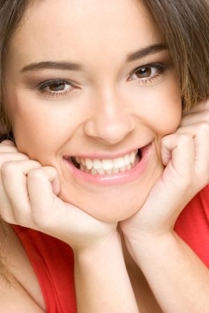 Smiling Woman Stock Photo - 2583533