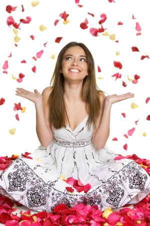 Happy Flower Girl photo