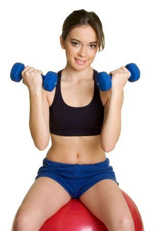 Exercise Girl Stock Photo - 2658027