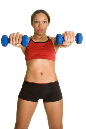 Lifting Weights Stock Photo - 2658152
