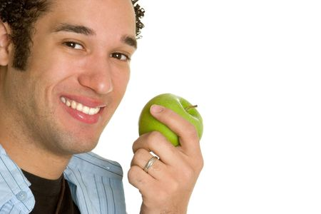 Man With Apple photo
