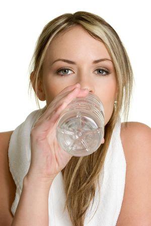 Girl Drinking Water Stock Photo - 2658173