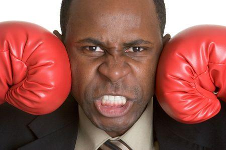 Boxing Gloves Man photo