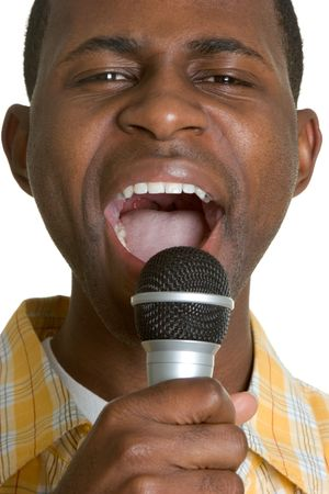 kareoke: Man Singing