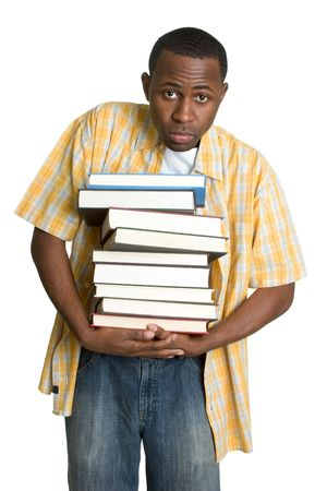 Student Carrying Books photo