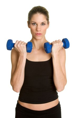 Lifting Weights Stock Photo - 2736768