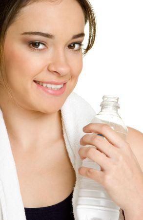 Teen Drinking Water Stock Photo - 2729798