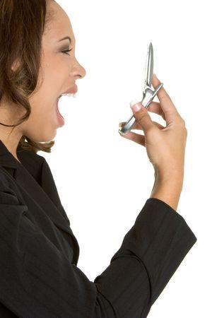 frustrate: Upset Businesswoman