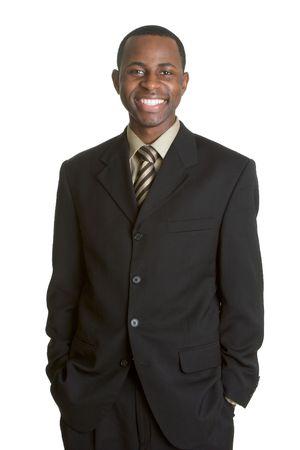 african businessman: Standing Businessman