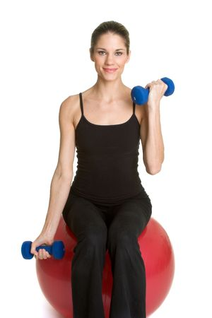Woman Exercising Stock Photo - 2747047