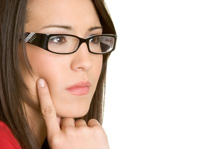 Thinking Woman Stock Photo - 2747054