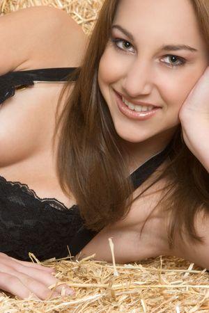 Teen Girl Smiling Stock Photo - 2747070