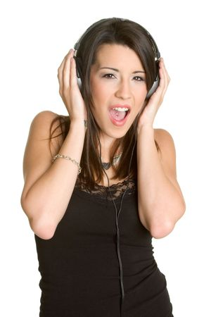 Music Girl Stock Photo - 2752808