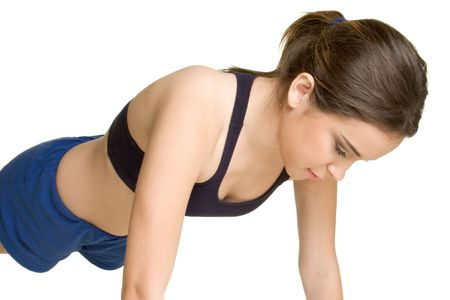 Push Up Girl Stock Photo - 2752805