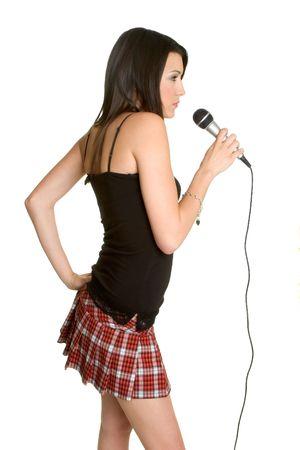 Karaoke Teen Reklamní fotografie