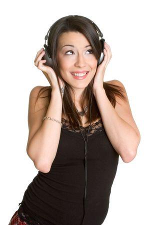 Headphones Woman photo