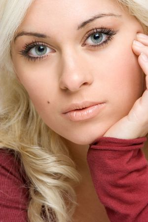 Beautiful Blond Stock Photo - 2966825