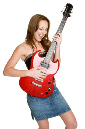 Teen Playing Guitar Stock Photo - 2845737