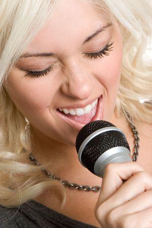 Singing Woman photo