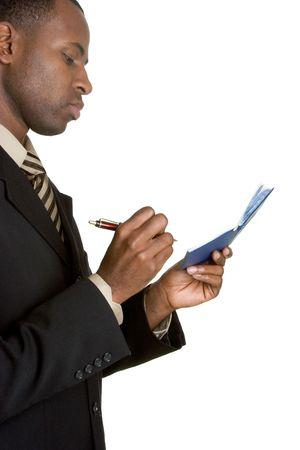 checkbook: Cheques De la Escritura Del Hombre