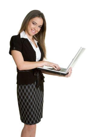 Laptop Woman Stock Photo - 2845796