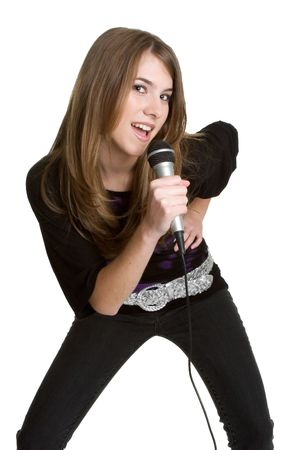 kareoke: Girl Singing