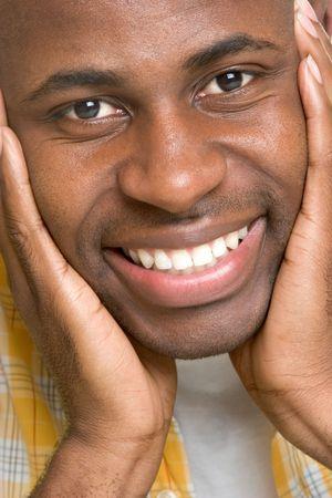 caras felices: El hombre sonriente  LANG_EVOIMAGES