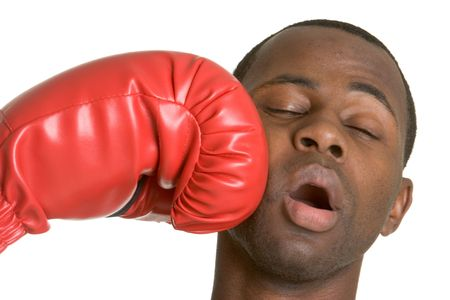 Knock Out Stock Photo - 2966827