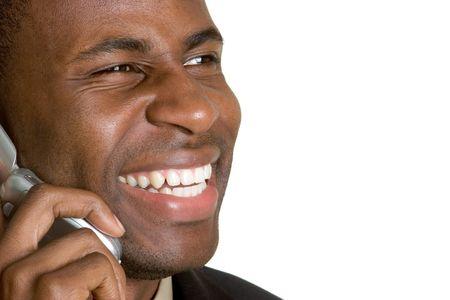 Laughing Phone Man photo