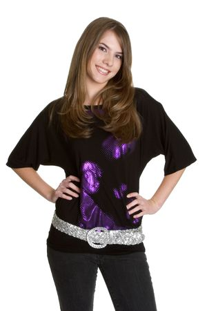 Smiling Teen Girl photo
