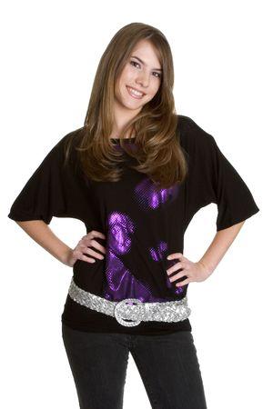 Smiling Teen Girl Stock Photo - 2912726
