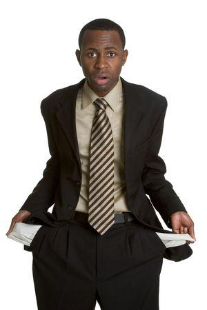 bolsa dinero: Rompi� A Hombre de negocios