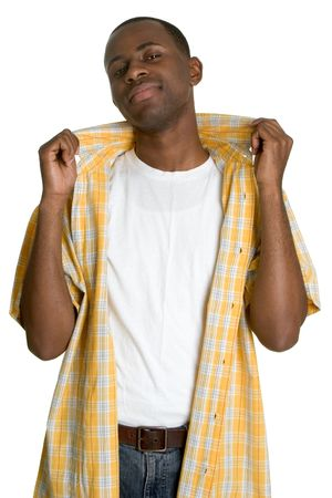 Cool Black Man Stock Photo