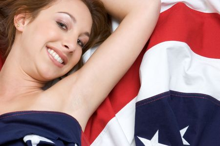 Flag Teen Stock Photo - 2981004