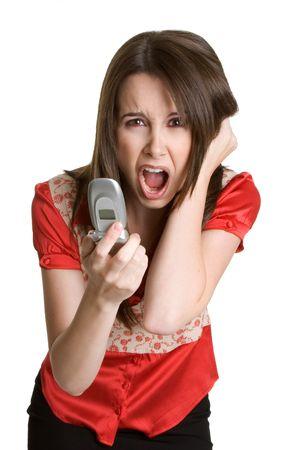 Frustrated Businesswoman 版權商用圖片
