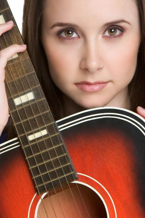 Guitar Girl Stock Photo - 3052221
