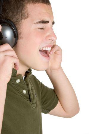 Boy Listening to Music Stock Photo - 3014958