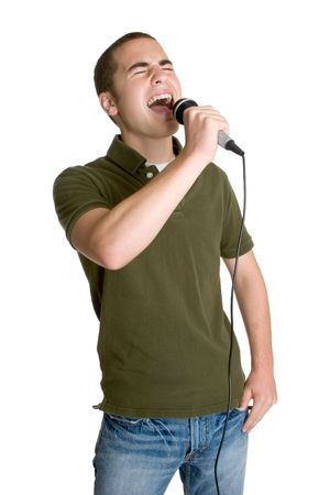 karaoke singer: Singing Boy