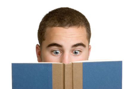 Boy Reading Book Stock Photo - 3014978