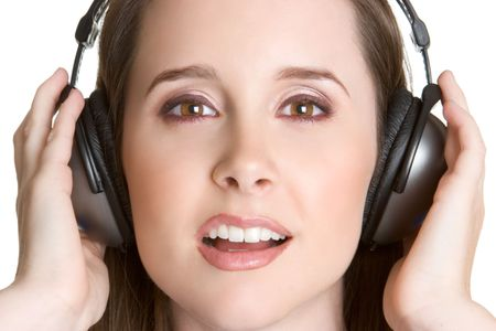 Headphones Teen Stock Photo - 3052236